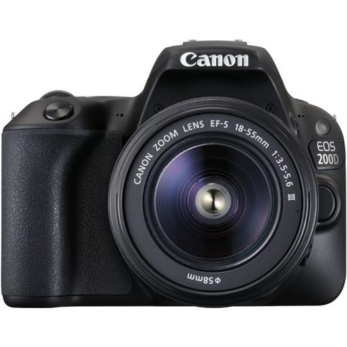 Zrkadlovka Canon EOS 200D BK 18-55 2250C011AA