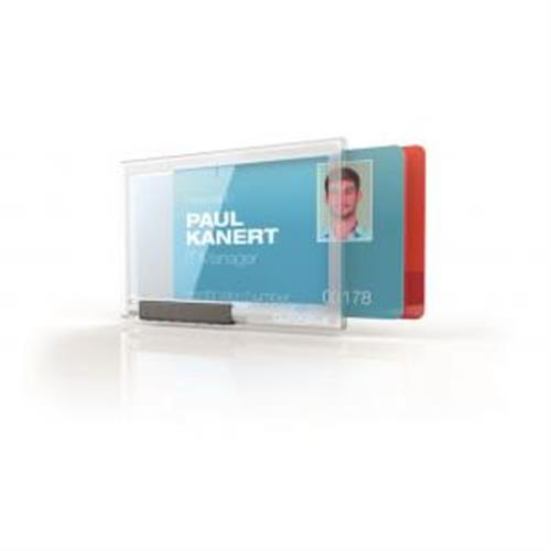 Puzdro na 2 karty DURABLE PUSHBOX DUO 10ks DU892119