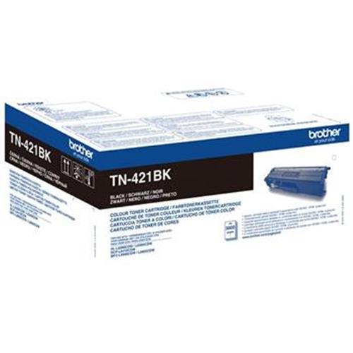 toner BROTHER TN-421 Black HL-L8260CDW/L8360CDW, DCP-L8410CDW, MFC-L8690CDW/L8900CDW TN421BK