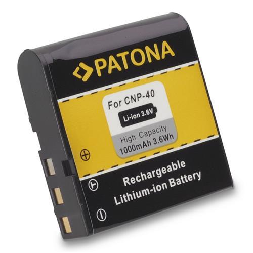 PATONA batéria pre foto Casio NP-40 1000mAh PT1024
