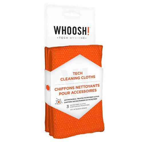WHOOSH! 3XL professional antibacterial microfibre cloth - 3pcs WH-1FGCL3COM