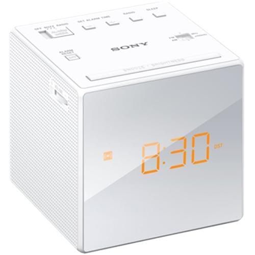 Sony rádiobudík ICF-C1, biely ICFC1W.CED
