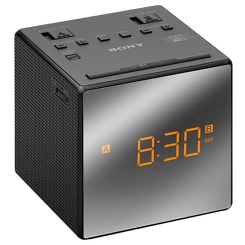 Sony rádiobudík ICF-C1T, duálny alarm, čierny ICFC1TB.CED