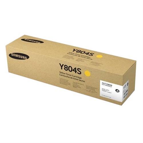 SAMSUNG CLT-Y804S Yellow Toner Cartridge SS721A