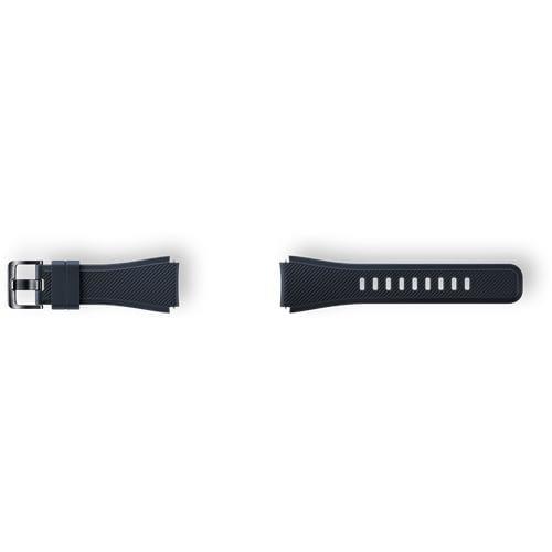 Samsung silikónový náramok pre Gear S3, Black ET-YSU76MBEGWW