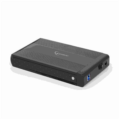 GEMBIRD externý dock pre 3,5'', USB 3.0, SATA, čierny EE3-U3S-3