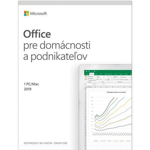 Office 2019 pre domácnosti a podnikateľov Win/Mac SK T5D-03323