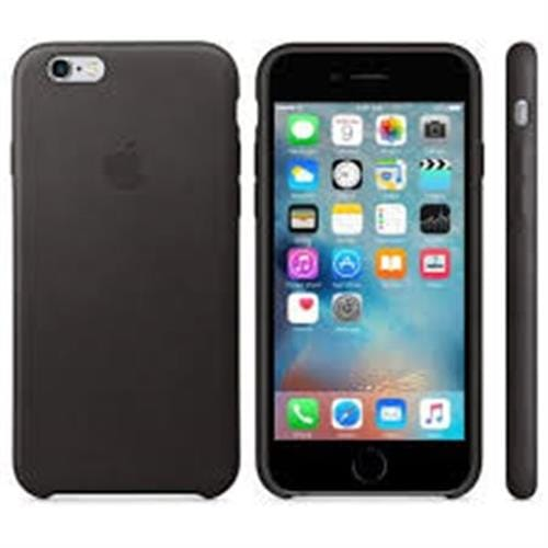 Apple iPhone 6S Leather Case Black MKXW2ZM/A