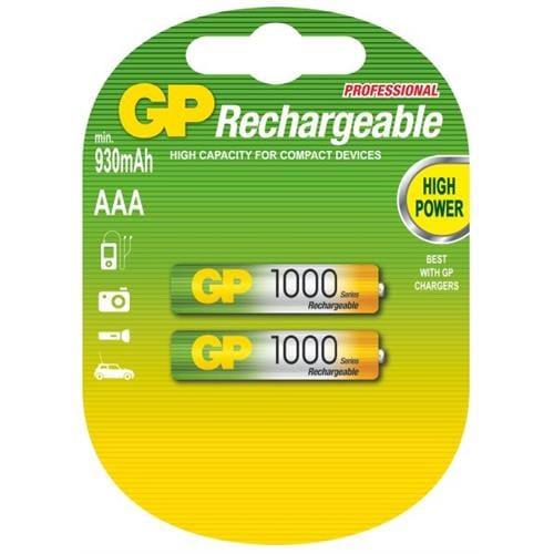 Nabíjacie batérie GP AAA 1000 NiMH 2ks 1032112080