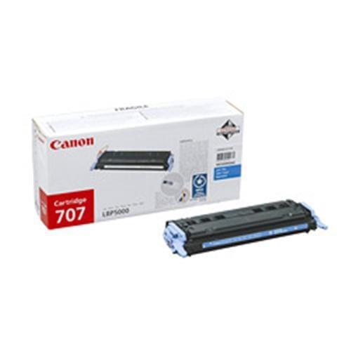 Toner CANON CRG-707 modrý pre LBP 5000 / 5100 4k strán 9423A004AA