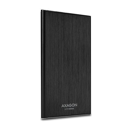 AXAGON USB3.0 - SATA 6G 2.5'' 7mm SLIM box BLACK EE25-XS6B