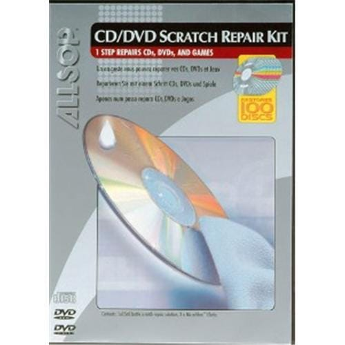 Allsop CD/DVD Scratch repair kit 59171