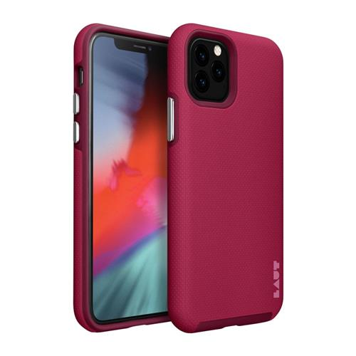 LAUT Shield – Case for iPhone 11 Pro, Cherry LAUT-IP19S-SH-CH