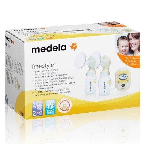 MEDELA Freestyle elektrická 2 fázová odsávačka mlieka 495864