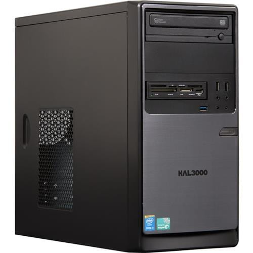 PC HAL3000 ProWork W8/ Intel i3-4160/ 4GB/ 1TB/ DVD/ CR/ W8.1