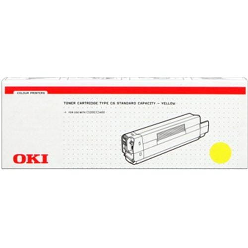 Toner OKI C5200/5400 yellow
