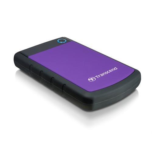 "Ext. HDD Transcend StoreJet 25H3P, 1TB, USB3.0, Rubber Case, Anti-Shock, 2.5"", čierno-fialový TS1TSJ25H3P"