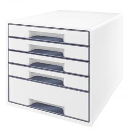 Zásuvkový box Leitz WOW sivý ES521401