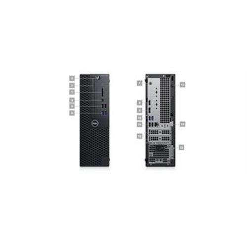 Dell PC Optiplex 3060 SF i5-8500/8GB/1TB/HDMI/DP/DVD/W10P/3RNBD 3060-3435