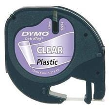 Páska DYMO 12268 LetraTag Transparent Plastic Tape (12mm)