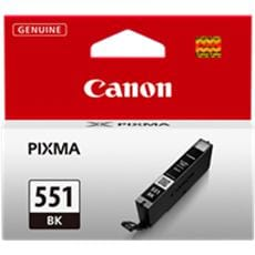 Kazeta CANON CLI-551BK black MG 5450/6350, iP 7250