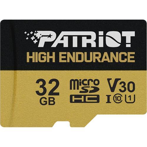 Patriot 32GB microSDHC High Endurance V30 U3 až 95MB/s PEF32GE31MCH