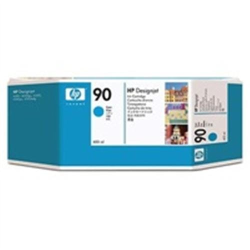 Kazeta HP HPC5061A Ink. náplň No. 90, cyan 400 ml