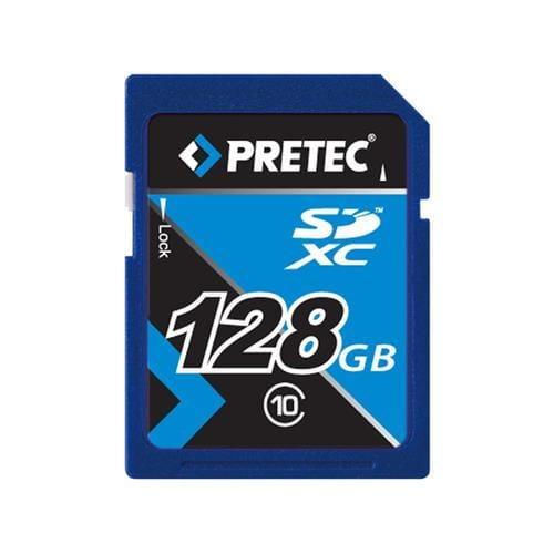 Pretec 128GB SDXC class 10 memory card PCSDXC128GB