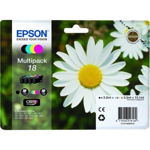 Kazeta EPSON XP-305 multipack CMYK C13T18064010