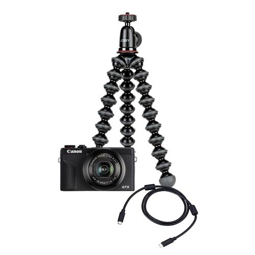 Fotoaparát Canon PowerShot G7X Mark III Black Webcam kit 3637C002WK