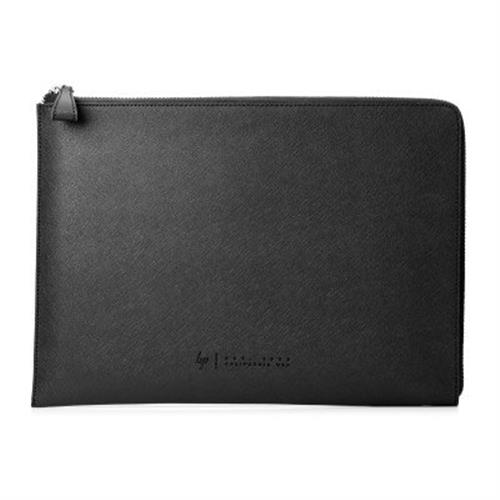 "HP Spectre 13.3"" Split Leather Sleeve (Silver) 1PD69AA#ABB"