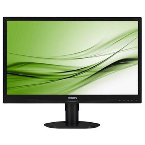 Monitor Philips 241S4LCB, 24'', LED, 1920x1080, 1000:1, 5ms, 250cd, D-SUB, DVI, čierny 241S4LCB/00