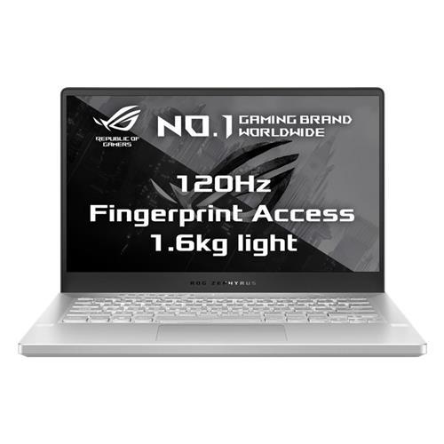 "ASUS ROG ZEPHYRUS G14 GA401II-HE008T AMD R5-4600HS 14"" FHD matný GTX1650Ti/4G 16GB 512GB SSD WL BT W10 CS biely"
