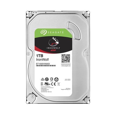 Pevný Disk Seagate IronWolf 1TB, 64MB, SATAIII, 5900rpm, NAS ST1000VN002