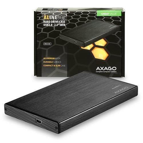AXAGO USB2.0 - SATA 2.5'' externý ALINE box EE25-XA