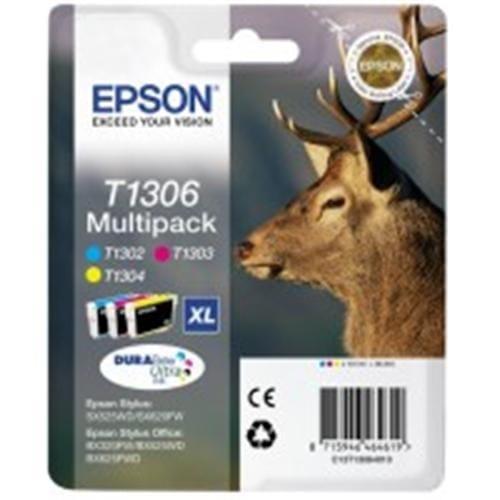 Kazeta EPSON SX525WD/SX620FW/BX320FW color multipack XL C13T13064010