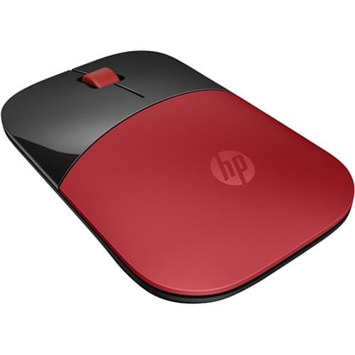 Myš HP Z3700 Wireless Mouse - Cardinal Red V0L82AA#ABB