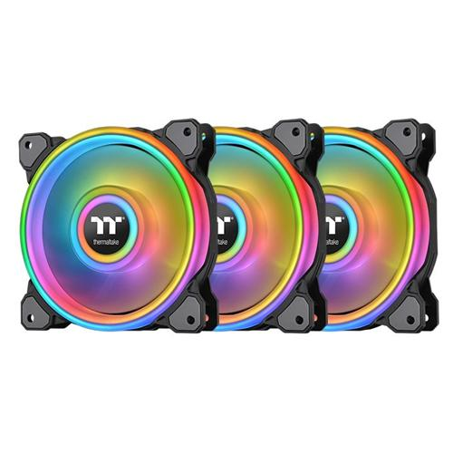Thermaltake Ventilátor Riing Quad 14 RGB 3 Pack (Fan + Controller) CL-F089-PL14SW-A