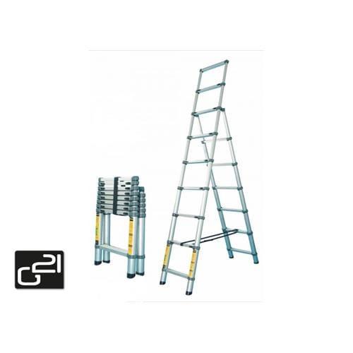 Teleskopický rebrík G21 GA-TZ9+11-3,2M Hliníkové štafle GA-TZ9-11