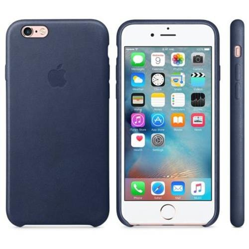 Apple iPhone 6S Leather Case Midnight Blue MKXU2ZM/A
