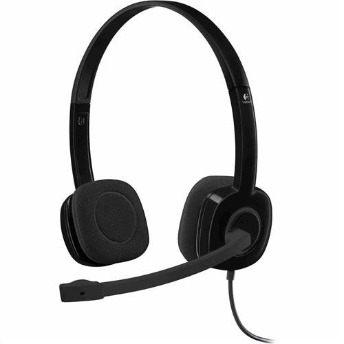 Logitech Stereo Headset H151 - ANALOG - EMEA 981-000589