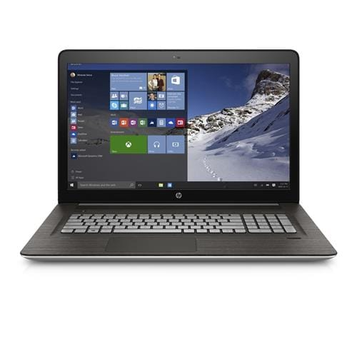 HP ENVY 17-n105nc, Core i7-6500U dual, 17.3 FHD, 940M/2GB, 8GB, 1TB, DVD-RW, W10, Natural silver + Black - IMR
