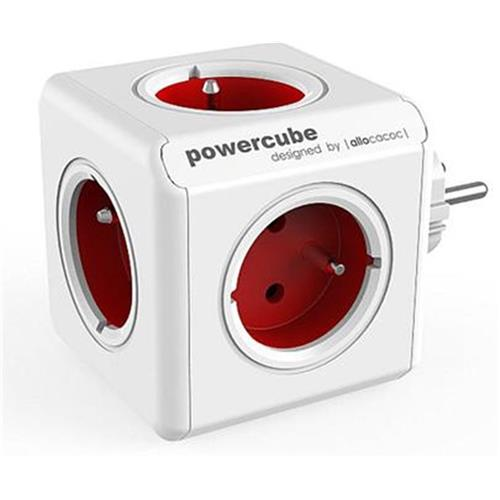 Zásuvka PowerCube ORIGINAL, Red, 5-ti rozbočka 423652