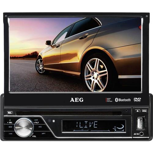 Autorádio s DVD AEG AR4026DVD, 400426, USB, SD slot, Bluetooth 373717