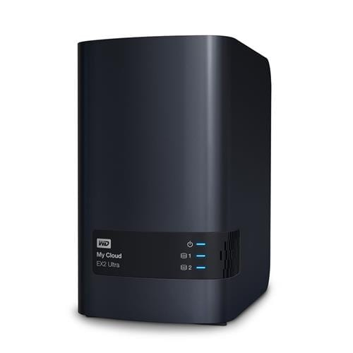 NAS 3.5'' WD My Cloud EX2 Ultra 8TB NAS LAN WDBVBZ0080JCH-EESN