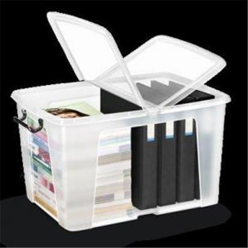 Plastový box s vekom 65l CP860110