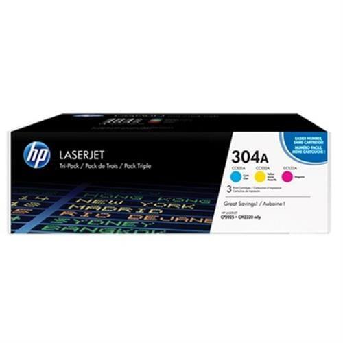 Toner HP CF372AM Troj-Pack HP304A (CC531A+CC532A+CC533A)