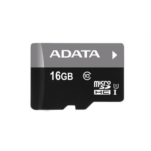 ADATA 16GB microSDHC UHS-I Premier, Class 10 + adaptér AUSDH16GUICL10-RA1