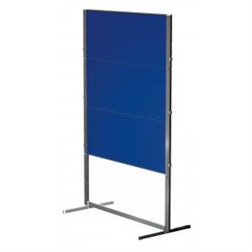 Moderačná tab. plstená skladacia PROFESSIONAL150x120cm modrá LM203400