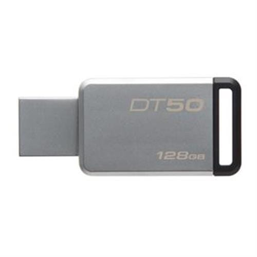 USB Kľúč 128GB Kingston USB 3.0 DT50 kovová čierna DT50/128GB